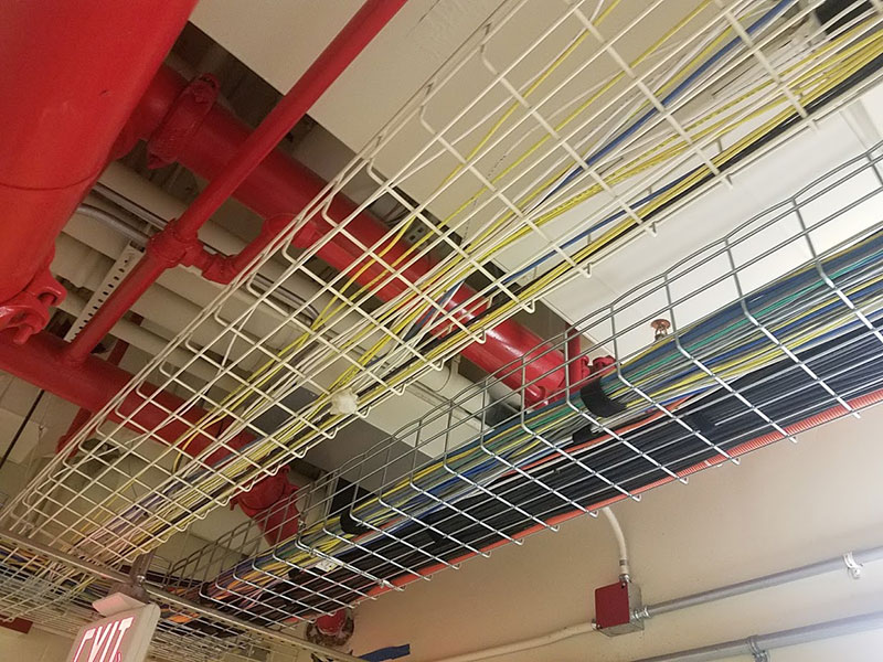 Mechanical upgrades to existing school in Jersey City, NJ